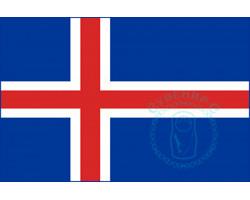Флаг Исландии 12х18