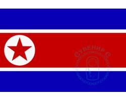 Флаг Северной Кореи - КНДР 12х18
