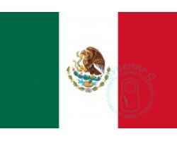 Флаг Мексики 12х18