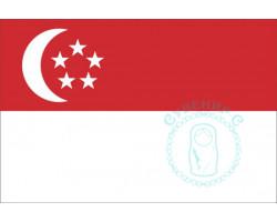 Флаг Сингапура 12х18