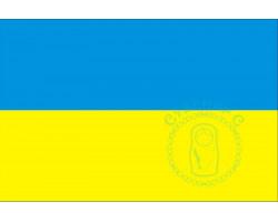 Флаг Украины 12х18