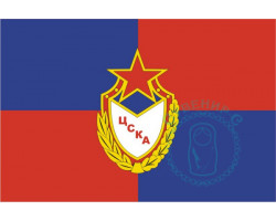 Флаг ФК ЦСКА 12х18