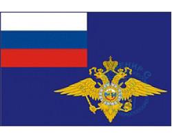 Флаг МВД РФ 12х18