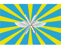 Флаг ВВС РФ 12х18