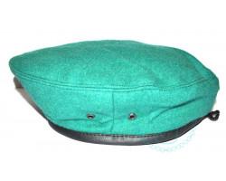 Берет зеленый (со швом)
