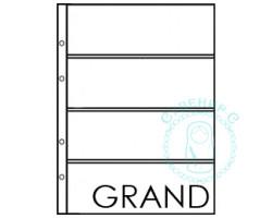 Лист для банкнот ГРАНД 4 ячейки