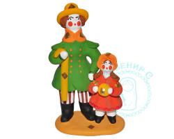 Композиция Барин с девочкой Дымка