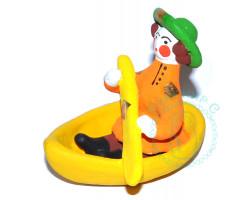 Парень в лодке 3 Дымка