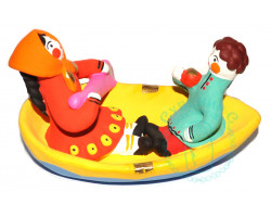 Пара в лодке Дымка