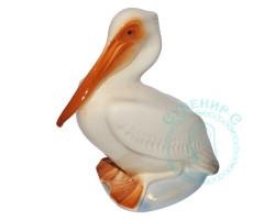 Пеликан малый фарфор