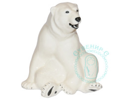 Белый медведь фарфор