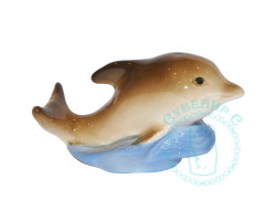Дельфин малый фарфор