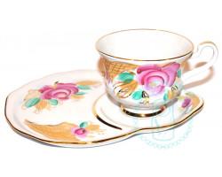 Чайная пара Дулево 3