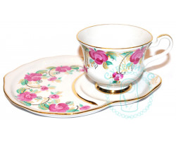 Чайная пара Дулево 4