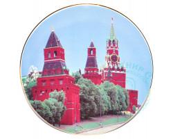 Тарелка Кремль Дулево D20