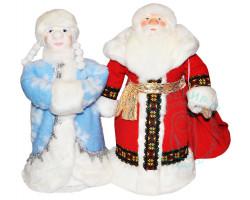 Куклы. Дед Мороз и Снегурочка 1