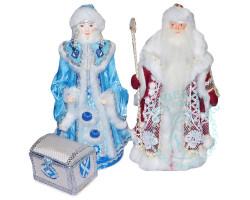 Куклы. Дед Мороз и Снегурочка 2