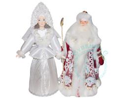 Куклы. Дед Мороз и Снегурочка 3