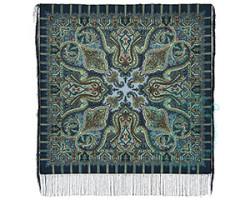 Платок шерстяной Шафран 1155-2