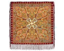 Платок шерстяной Шафран 1155-7