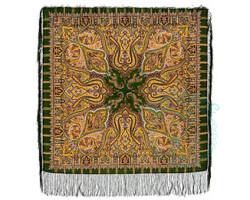 Платок шерстяной Шафран 1155-10