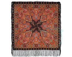 Платок шерстяной Шафран 1155-18