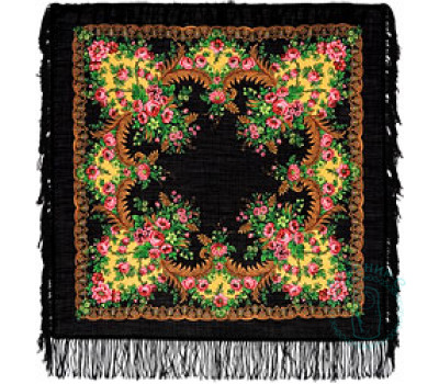 Платок шерстяной Вечерняя зоря 1264-18