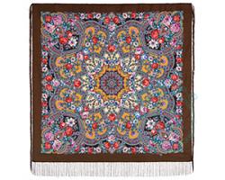Платок шерстяной Серебряный ручей 1851-16