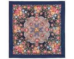 Платок шерстяной Цветочная нимфа 1831-14