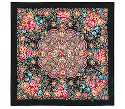 Платок шерстяной Цветочная нимфа 1831-18