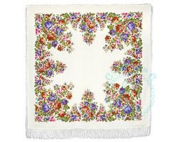 Платок шерстяной Весеннее цветение 1